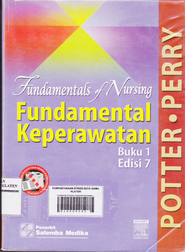 Fundamentals of Nursing: Fundamental Keperawatan (Buku 1)