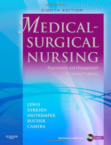 Medical-Surgical Nursing: assessment and management of clinical problems Vol. 1